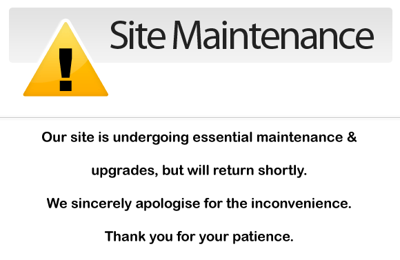 Site Maintenenance